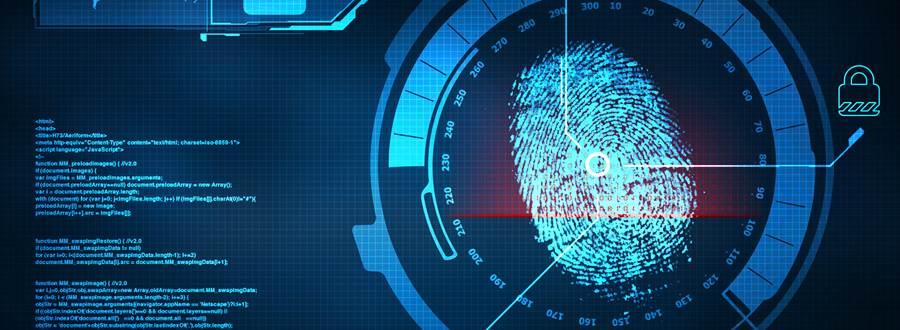 Forensics fingerprint image