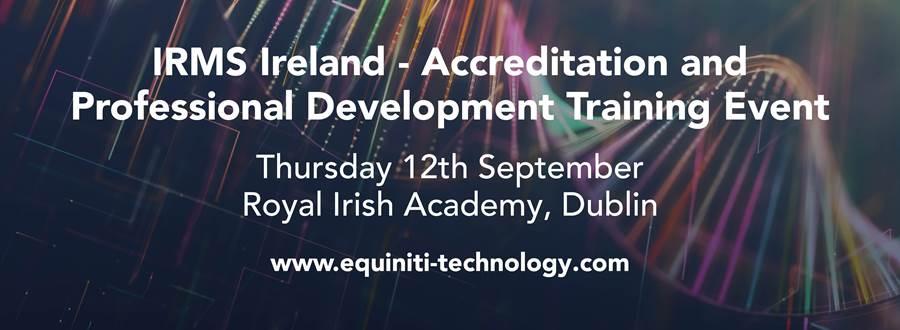 IRMS Ireland Regional Event